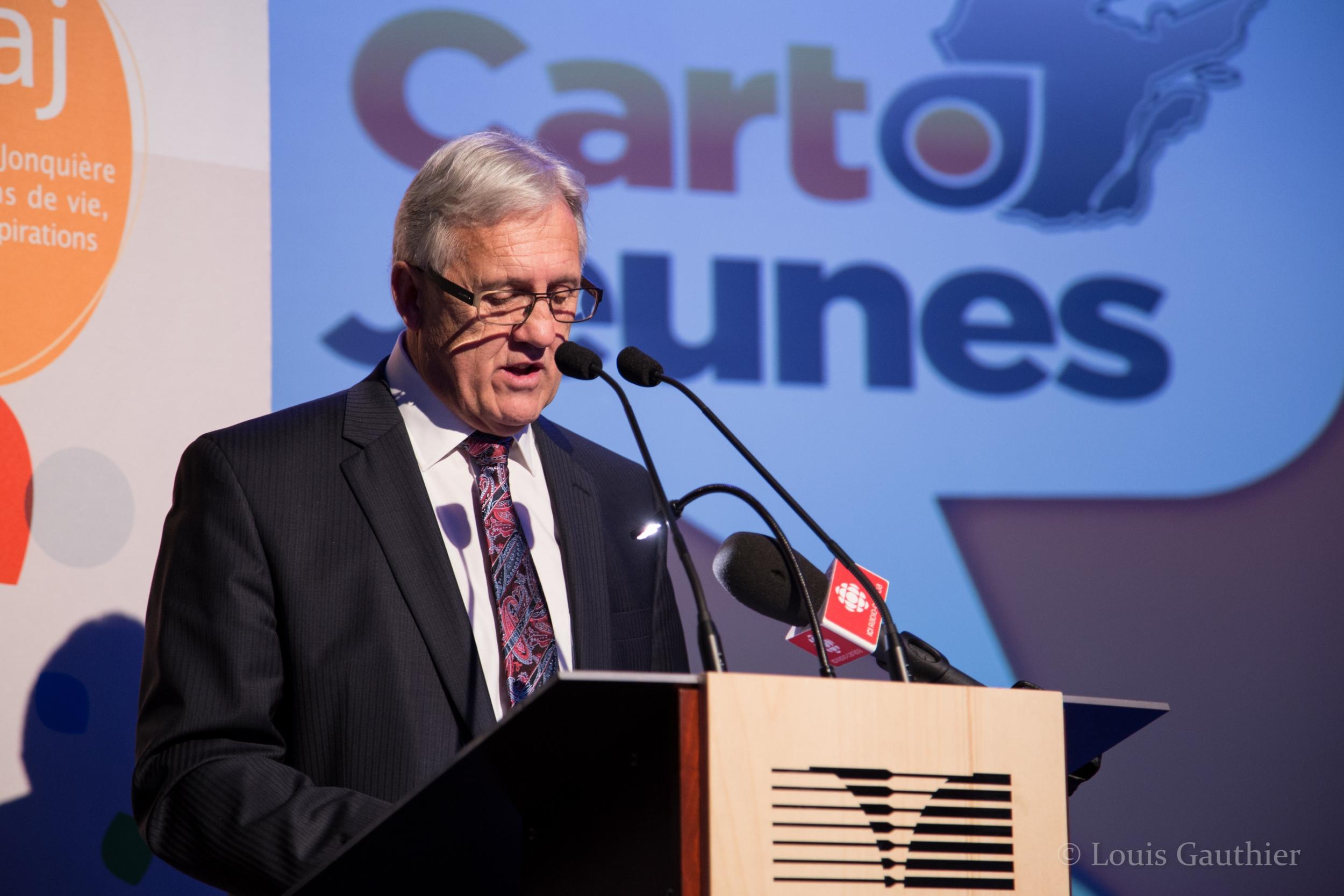 Michel Perron résume CartoJeunes en quatre questions